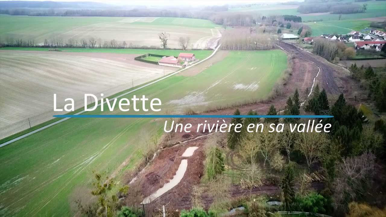 Nouveau film réalisé par Vic Production sur le réaménagement de la Divette