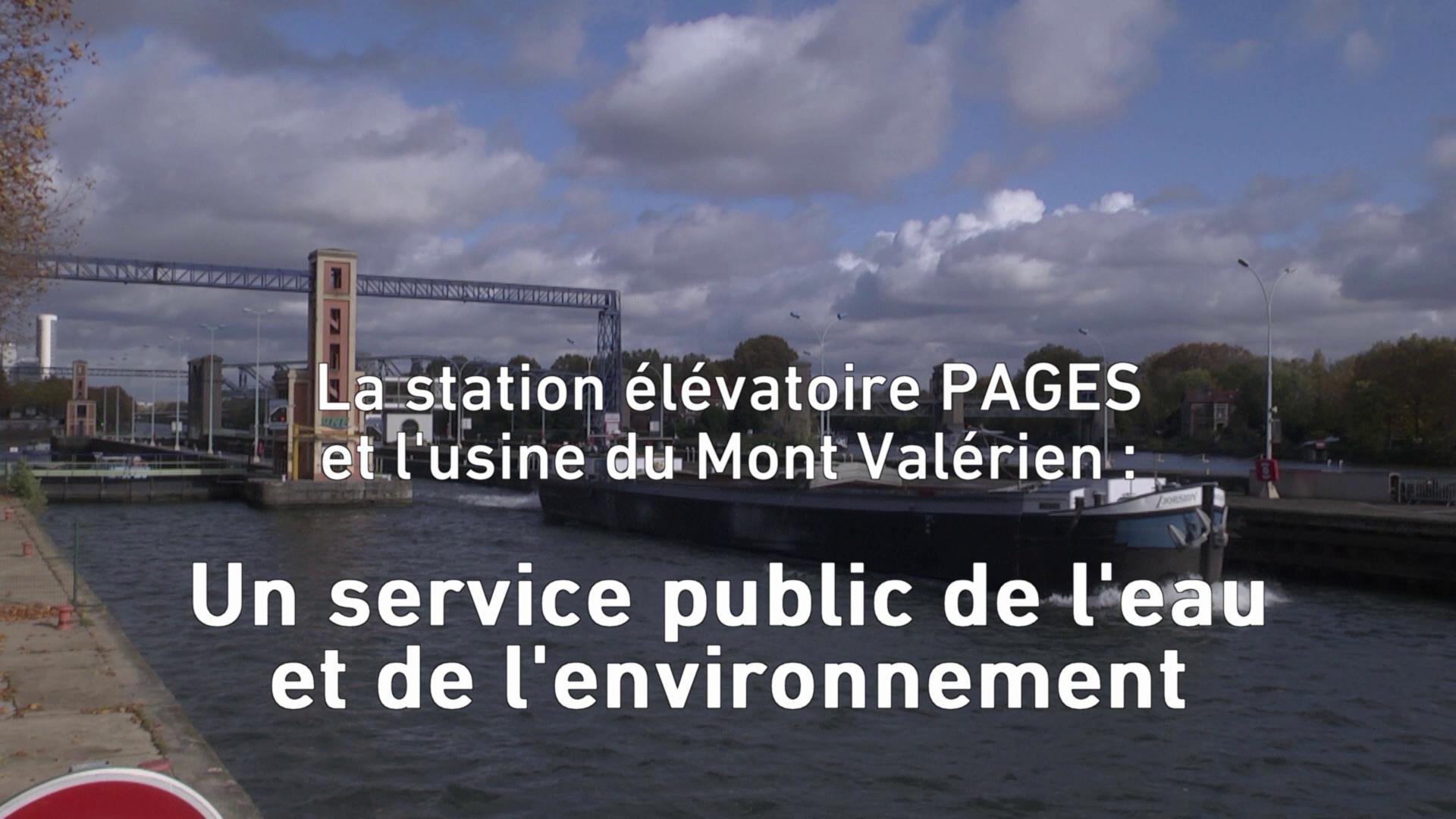 La Station élévatoire PAGES et l'usine du Mont Valérien de SENEO